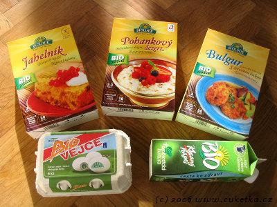 Jak chutnají české biopotraviny roku 2006?