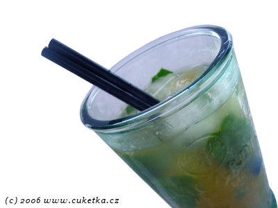 Recept na Mojito: Cukito Fashioned