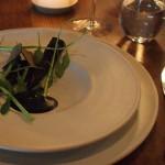 Stará a pomalu pečená mrkev, švédský lanýž, bylinky