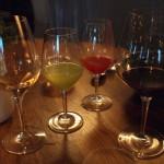 Juice menu— výběr ovocných, zeleninových a bylinkovýchšťáv