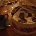 Oplatky včokoládě smořskou solí