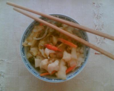 Kimchi podle Pivli