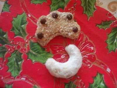 Pánové vídeňský ořechový rohlíček a český vanilkový rohlíček